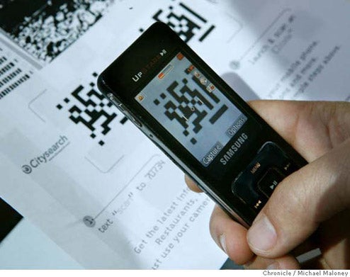 Japan's QR Codes Being Tested in SF