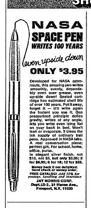 Buy the Pen That Helped Save The Apollo 11 Space Mission