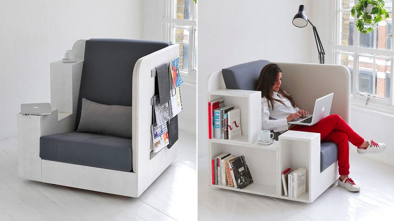 This Throne of Books Is Your Own Private Personal Library