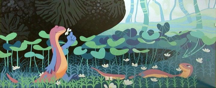 Fantastic Concept Art from the Pixar Film That Never Happened, Newt