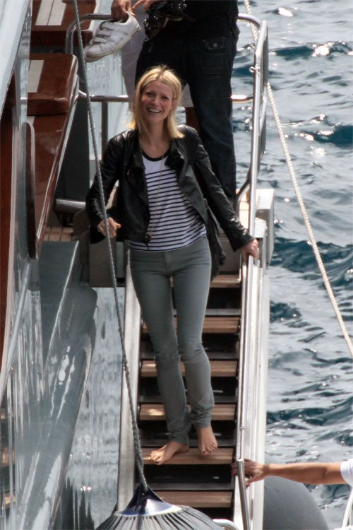 Gwyneth Paltrow Finally Escapes The Sky-High Shoes