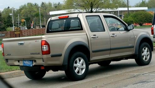 Diesel Chevrolet LUV Cruising Around Detroit Suburbs