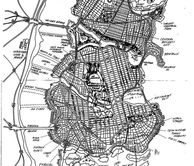 The Cartographer Who Created The Map Of Gotham City