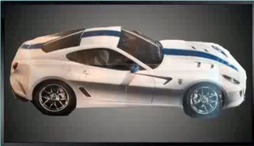 Gran Turismo OMGato! Ferrari 599 GTO First Photo