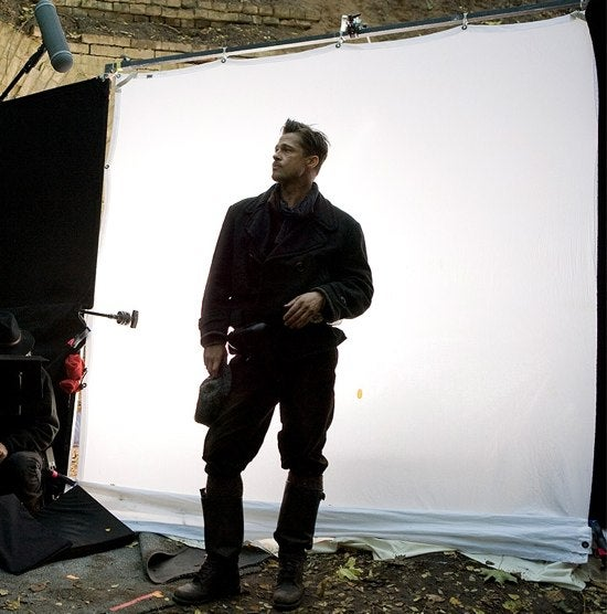 First Photo of Brad Pitt Hints 'Basterds' Is Just a Catalogue Shoot