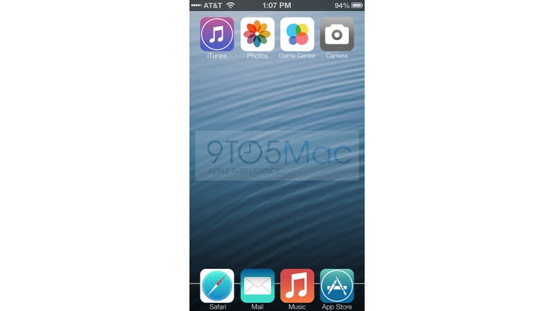 Rumor: This Is What iOS 7 Will Look Like