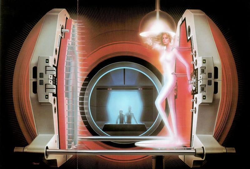 Phantasmagoric visions of tomorrow, straight out of 1980s Japan
