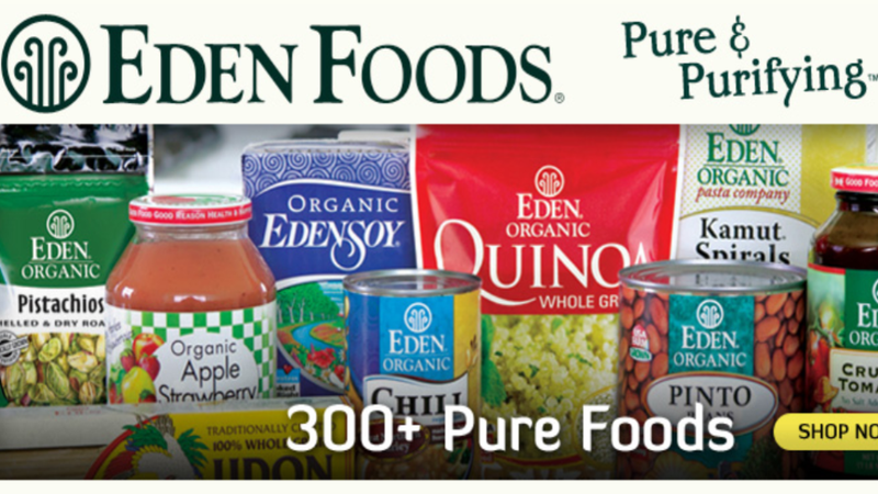 Organic Eden Foods Isn't Progressive Enough to Pay For Its Employees' Birth Control