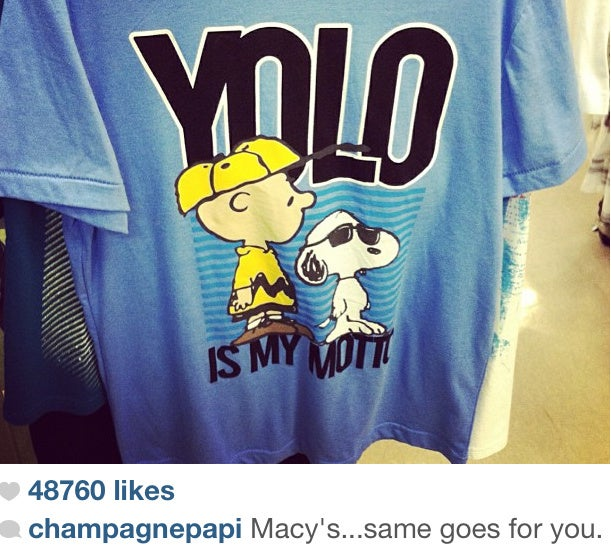 Drake Wants Royalties For That YOLO Hat (and That YOLO Shirt, Too)
