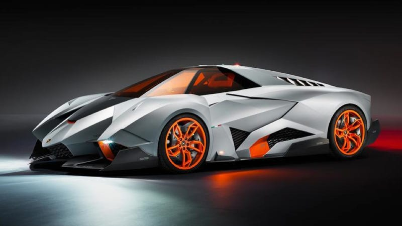 The Lamborghini Egoista Only Needs One Seat To Be Amazing