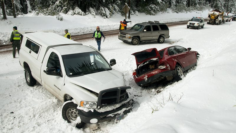 The Ten Worst Things You Can Do While Driving In Winter