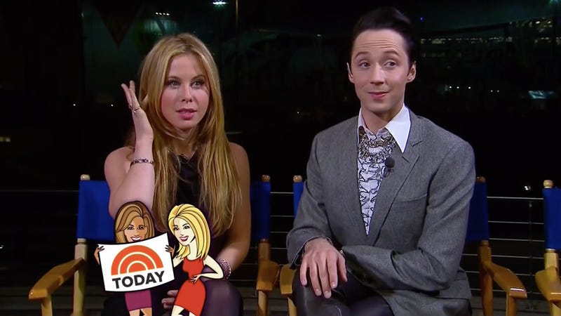 Weir Watch: Here's What Olympic Hero Johnny Weir Is Wearing Today