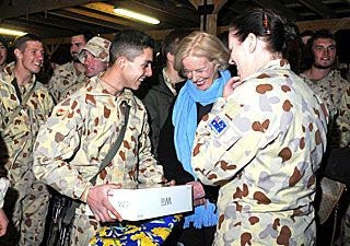Governor-General Visits Afghanistan To Drop Off A Wii