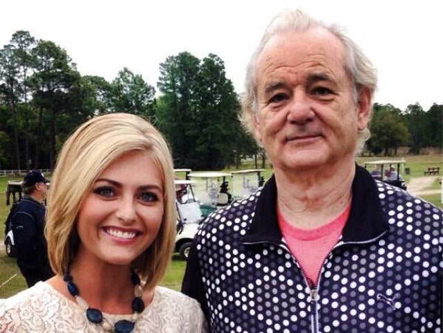 Bill Murray Golfs in Whatever Pants He Wants, Because He's Bill Murray