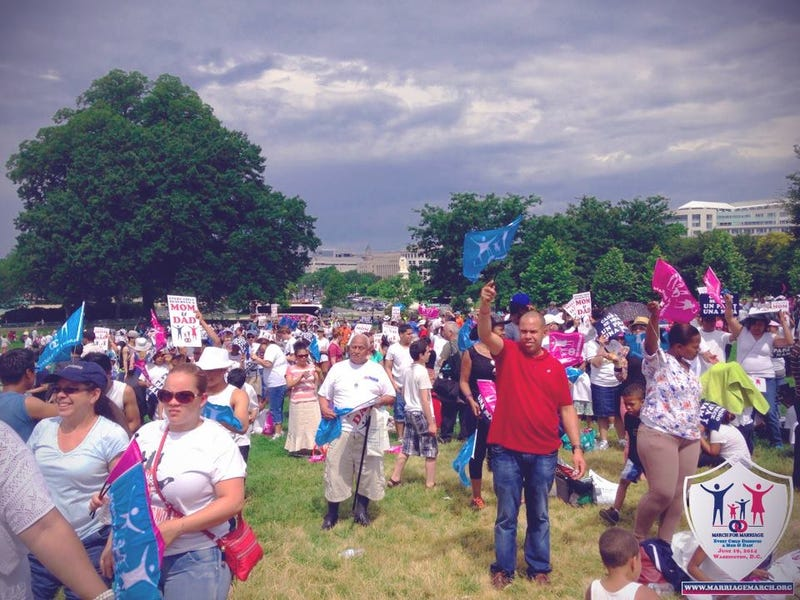 NOM's Anti-Gay March for Marriage Was Pathetic