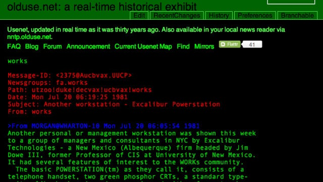 Travel Back in Time to Usenet 30 Years Ago