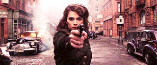 """""""Agents of SHIELD"""" was renewed for another season. """"Agent Carter"""" was already picked up for a series order..."""
