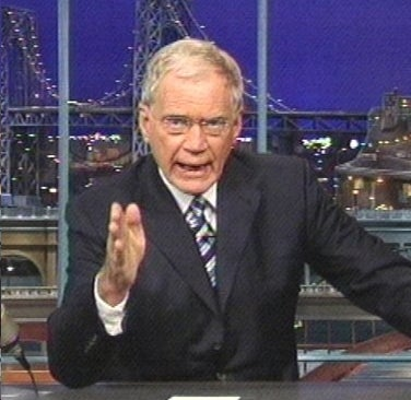 Letterman Totally Cuckolded His Extorter