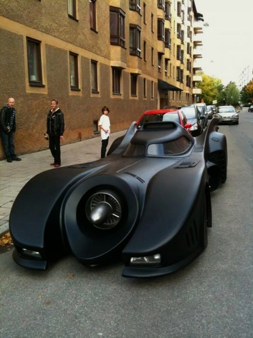 Swede Builds His Own Batmobile For $1 Million