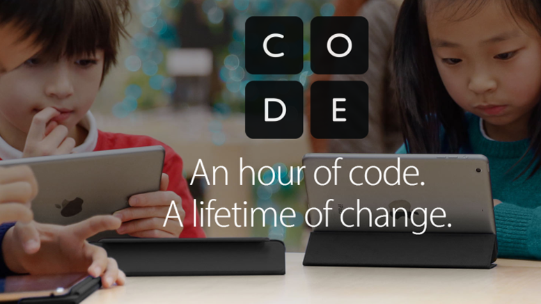 Register Your Child for a Free Hour of Code Workshop at Apple