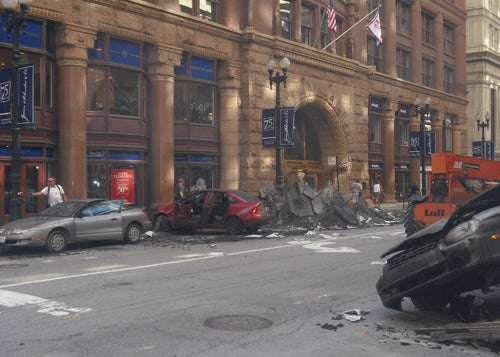 Transformers 3 Carnage Hits Chicago