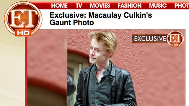Media Fears Macaulay Culkin Possibly Dying, Not Shaving