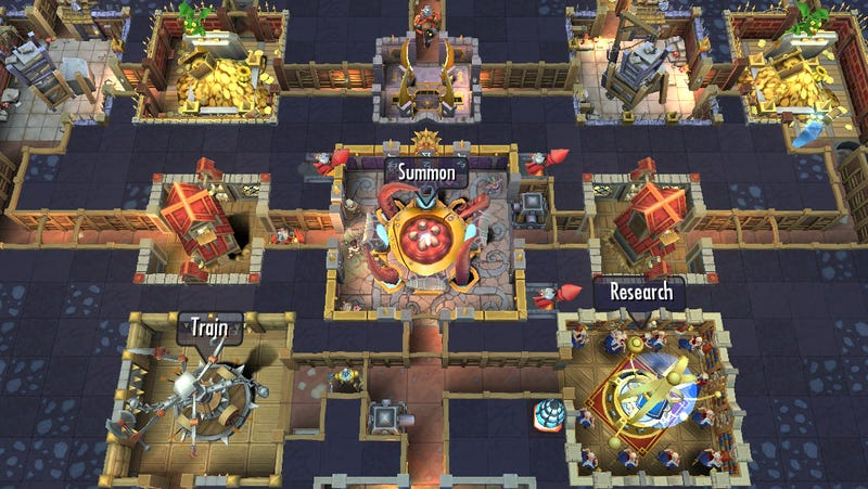 Dungeon Keeper Returns... As A Mobile Game
