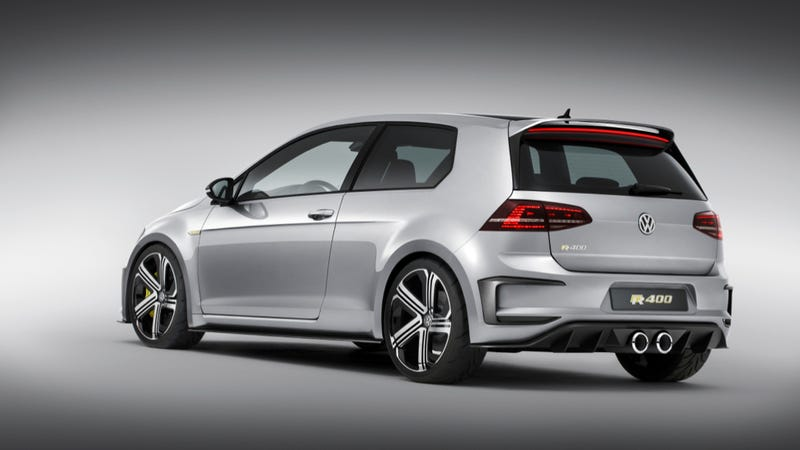 That Crazy VW Golf R 400 Concept Looks Alarmingly Production-Ready
