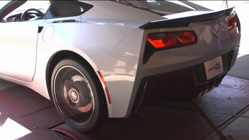 Dyno Run Says The 2014 Corvette Has 411 Wheel Horsepower