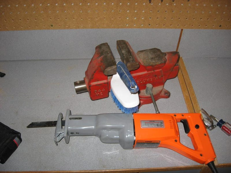 DIY Power Brush Marries Cleaning with Power Tools