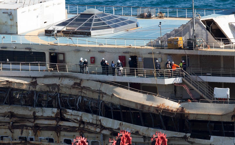Wreckage of the Costa Concordia Cruise Ship To Finally Be Cleared