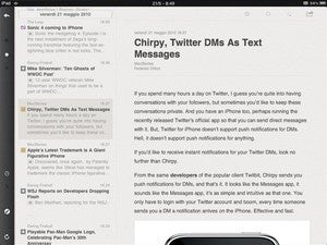 Best iOS Newsreader: Reeder