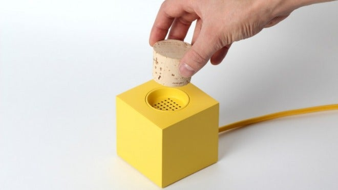 This Radio Won't Shut Up Until You Shove a Cork In It