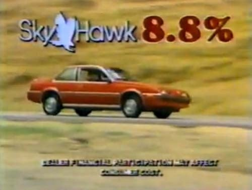 The Best Thing About The 1983 Skyhawk Was The Interest Rate