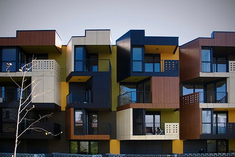Tetris-Style Slovenian Housing Projects