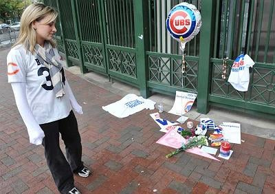 'Shrine To Futility' Growing Outside Of Wrigley Field