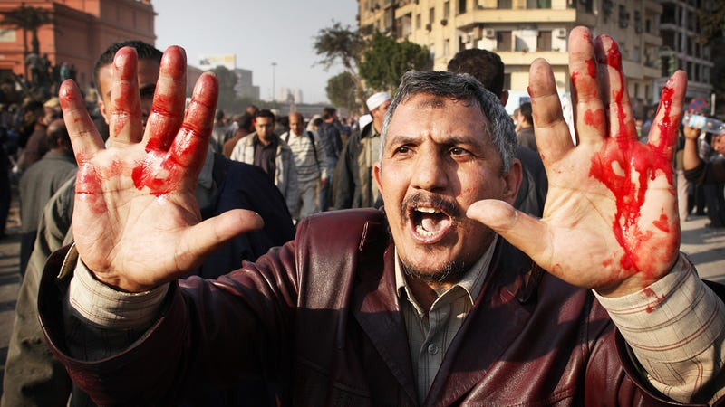 Egypt Turns Violent