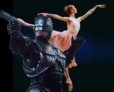 RoboCop Crushed By Natalie Portman's Ballerina