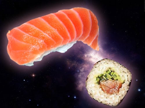 First Space-Based Sushi Construction Expedition Underway