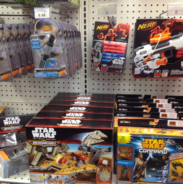 "Oops, Toys ""R"" Us Is Selling Star Wars: The Force Awakens Toys Early"