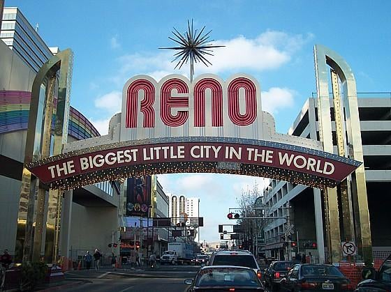 Model Crashes RV Into The Reno Arch Returning From Burning Man