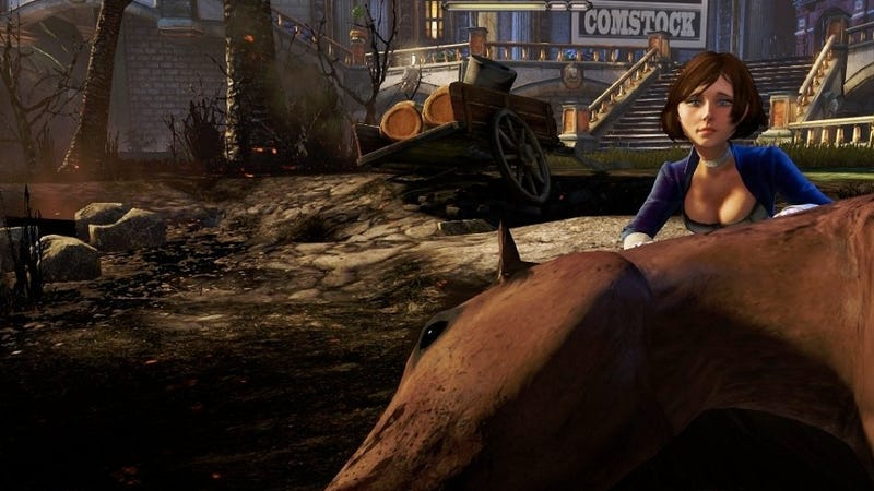 Go Ahead and Shoot Elizabeth in BioShock Infinite. Ken Levine's Way Ahead of You