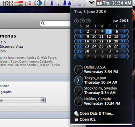 iStat Menus Monitors Your Entire System from Your Menubar