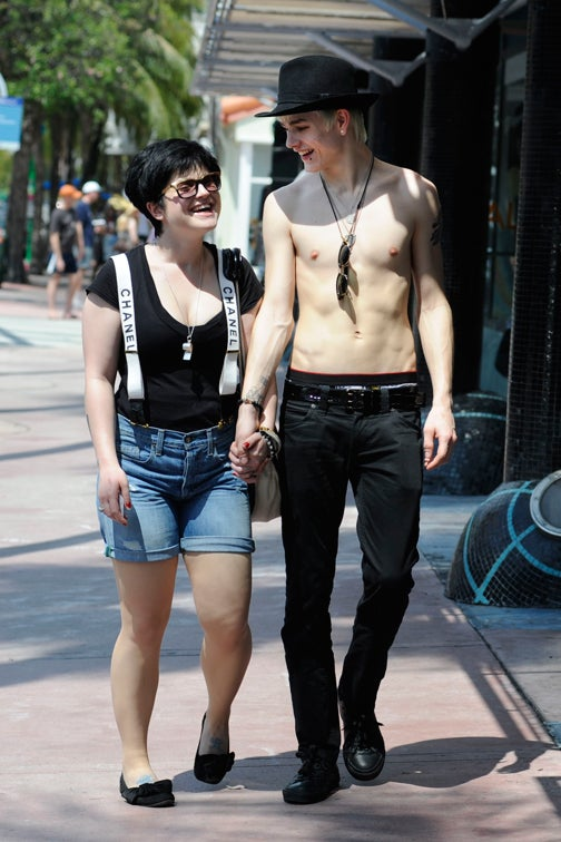 Kelly Osbourne's Boyfriend: Chest & Drawers