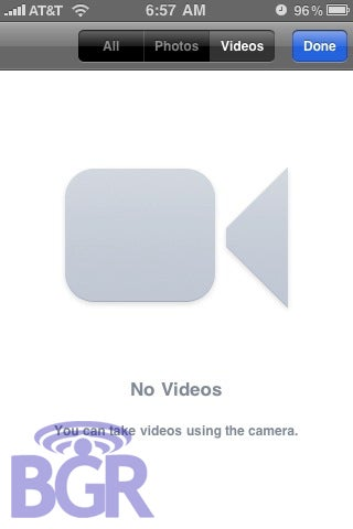 iPhone 3.0's Video Recording Interface Revealed