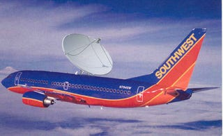 Southwest and alaska airlines to test ad supported wi fi for Southwest airlines free wifi