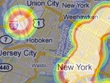 WhereDoYouGo Heatmaps Foursquare Check-ins