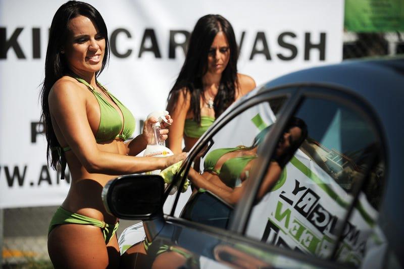 Bikini Car Wash For Hybrids Only