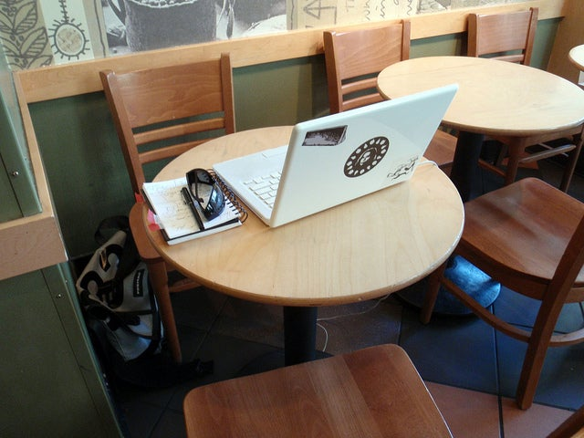 Starbucks Now Calling the Cops on Laptop Hobos