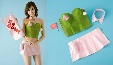 Japanese Putting Bra Lets You Golf Into Lingerie